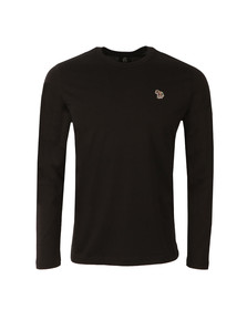Paul Smith Mens Black New Zebra Long Sleeve T Shirt