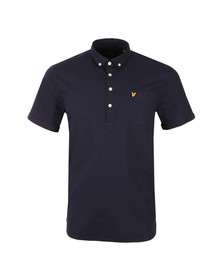 Lyle and Scott Mens Blue Oxford Over The Head Shirt