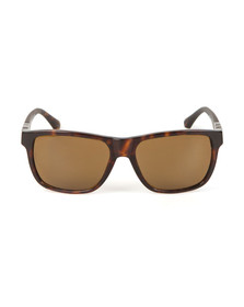Emporio Armani Mens Brown EA4035 Sunglasses