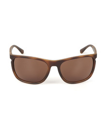 Emporio Armani Mens Brown EA 4107 Sunglasses