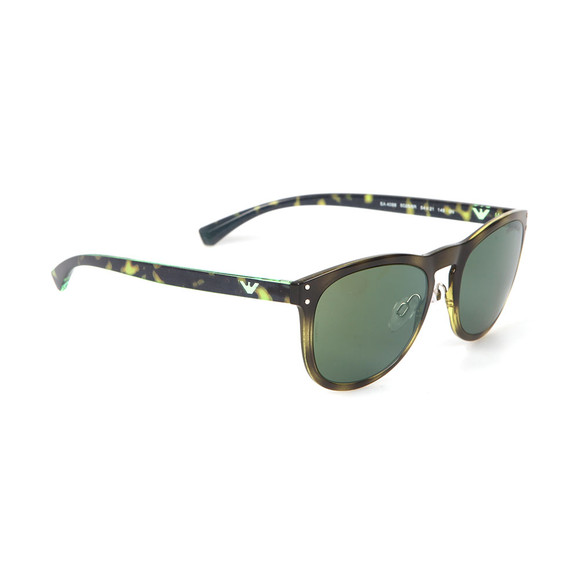 Emporio Armani Mens Green EA 4098 Sunglasses main image
