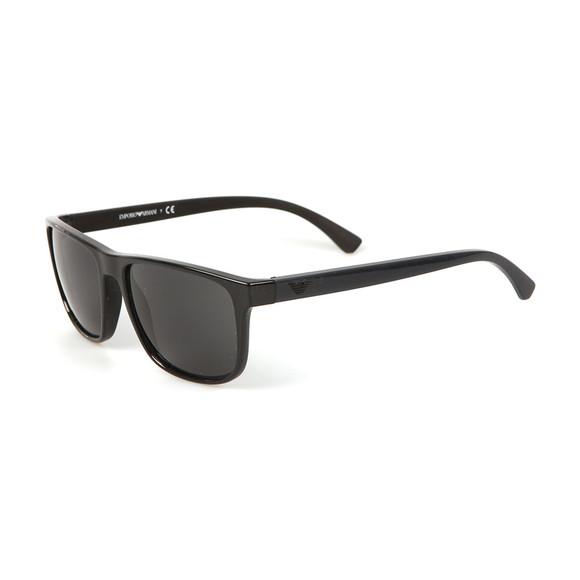 Emporio Armani Mens Black EA 4087 Sunglasses main image