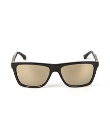 Emporio Armani Mens Black Armani OEA4001 Sunglasses