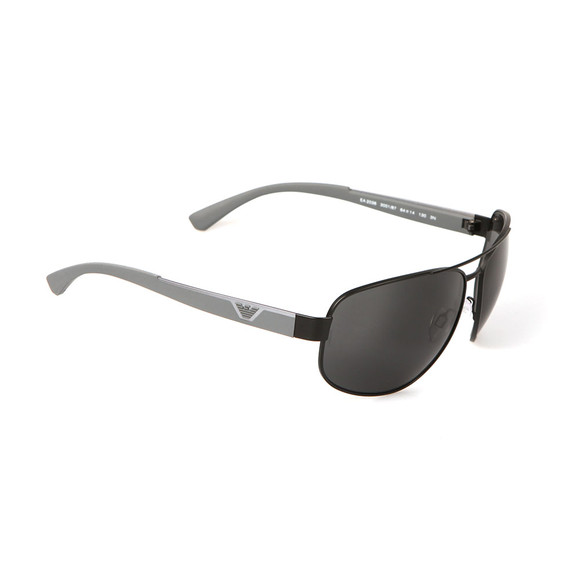 Emporio Armani Mens Black EA2036 Sunglasses main image