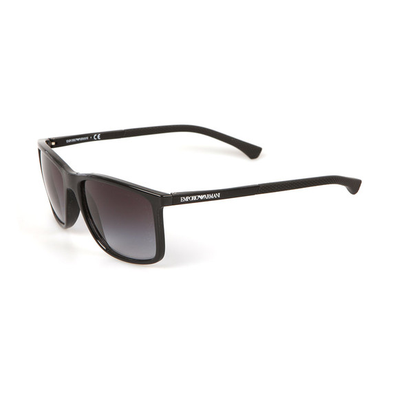 Emporio Armani Mens Black EA4058 Sunglasses main image