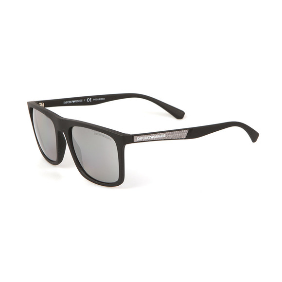 Emporio Armani Mens Black EA 4097 Sunglasses main image