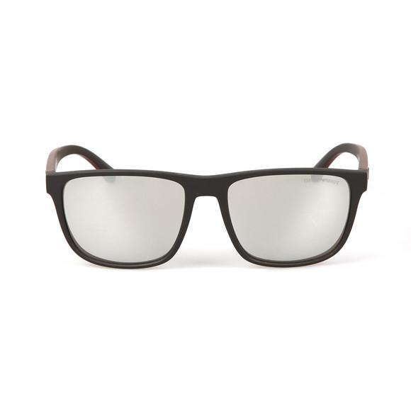 Emporio Armani Mens Grey EA 4087 Sunglasses main image