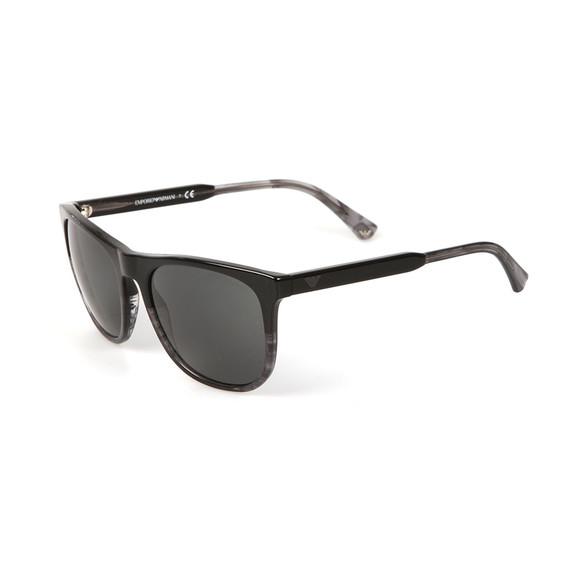 Emporio Armani Mens Black EA 4099 Sunglasses main image