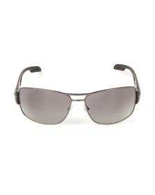 Prada Mens Grey Prada 0PS 53NS Sunglasses