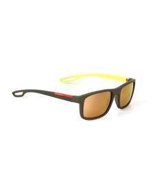 Prada Linea Rossa Mens Yellow 03RS Sunglasses
