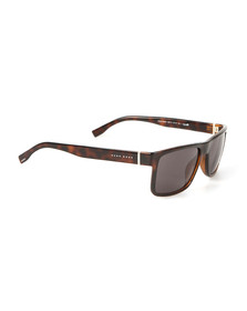 Boss Mens Brown 0768 Sunglasses