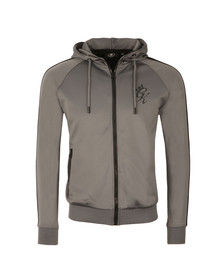 Gym king Mens Grey Poly Track Top