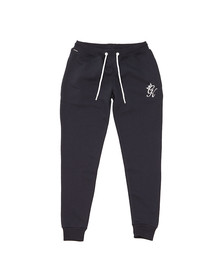 Gym king Mens Blue Core Tracksuit Bottoms