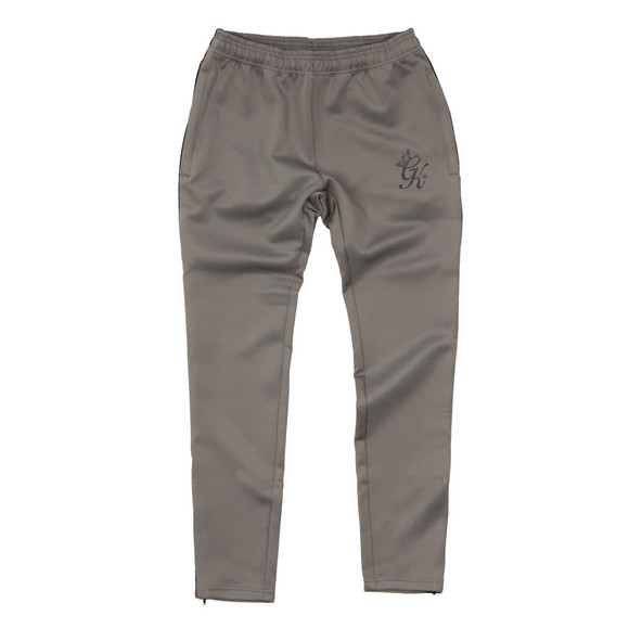 Gym King Mens Grey Poly Track Bottom main image