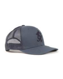 Gym king Mens Blue Trucker Cap