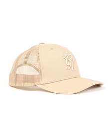 Gym king Mens Beige Trucker Cap