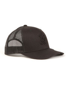 Gym king Mens Black Trucker Cap