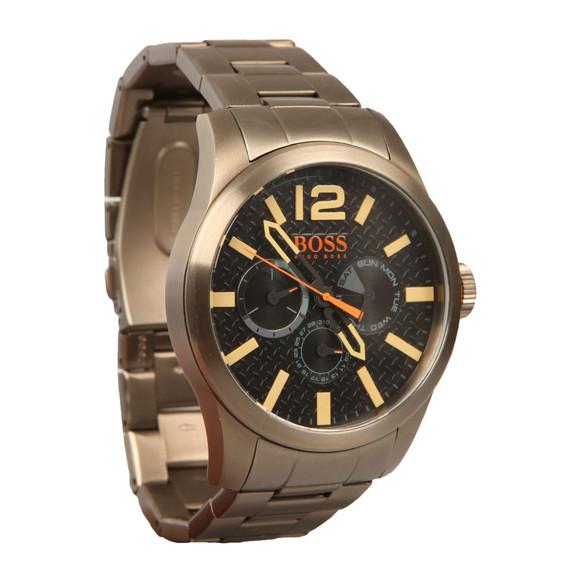 BOSS Mens Grey Casual Paris Metal Strap Watch