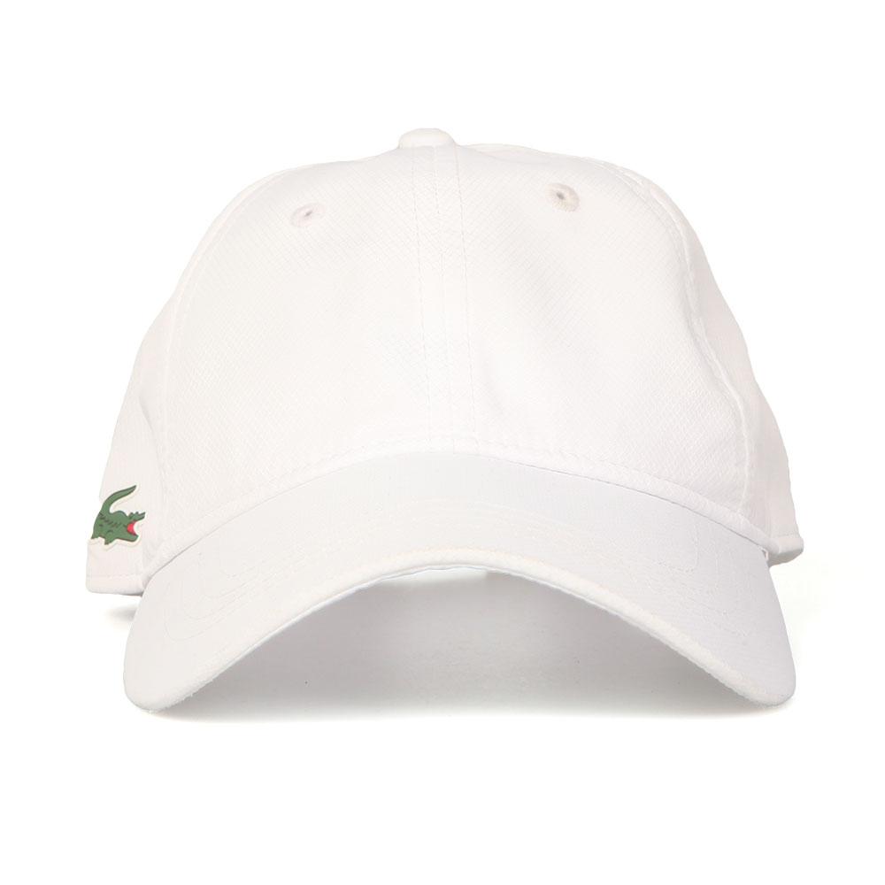 42d1862a97a Lacoste Sport Mens White RK2447 Cap