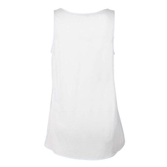 French Connection Womens White Sania Plains Sleeveless Top main image
