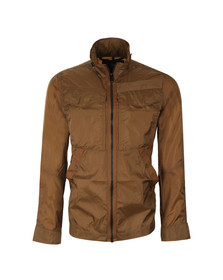 G-Star Mens Brown Nylon Overshirt