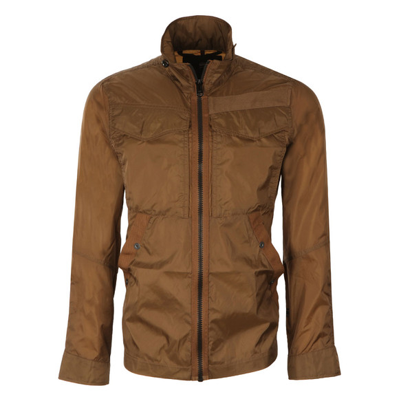 G-Star Mens Brown Nylon Overshirt main image