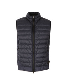 Stone Island Mens Blue Packable Down Gilet