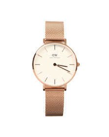 Daniel Wellington Womens Pink Classic Melrose 32mm Watch