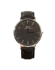 Daniel Wellington Unisex Black Classic Sheffield 40mm Watch