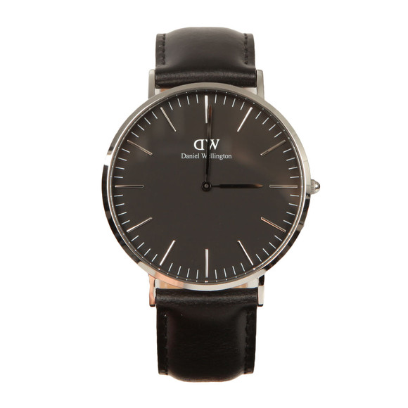 Daniel Wellington Unisex Black Classic Sheffield 40mm Watch main image