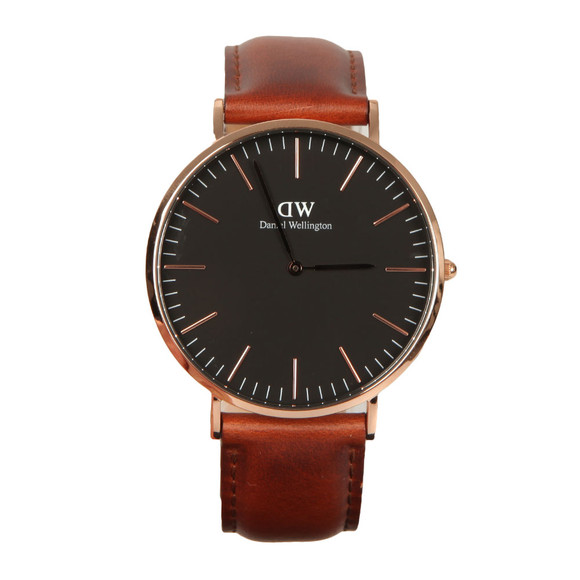 Daniel Wellington Unisex Black Classic St Mawes 40mm Watch main image