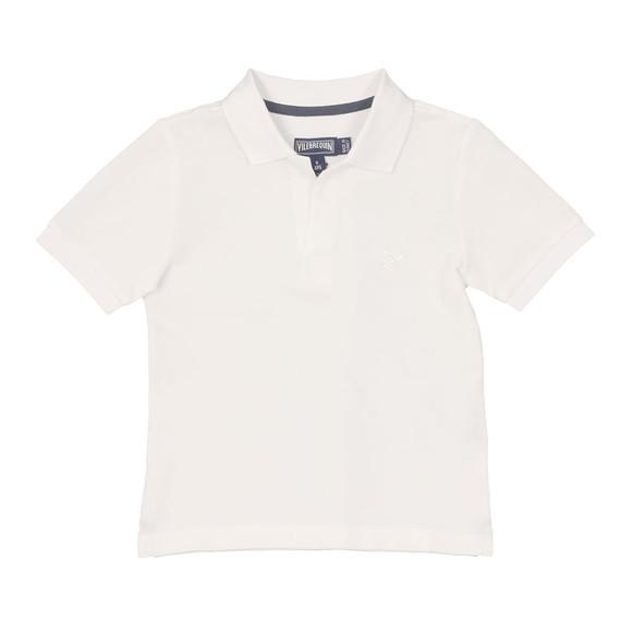 Vilebrequin Boys White Boys Pantin Pique Polo Shirt main image