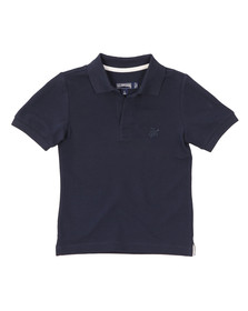 Vilebrequin Boys Blue Pantin Pique Polo Shirt
