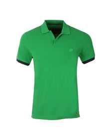 Vilebrequin Mens Green Palatin Pique Polo Shirt