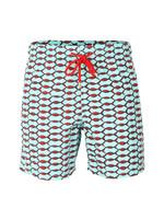 Classic Style Fishnet Swim Short