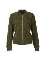 Light Weight Embroidered Bomber Jacket