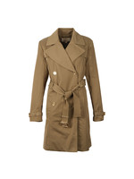 Pleated Trench