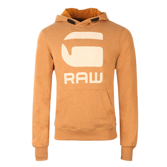G-Star Mens Orange Hooded Sweat main image