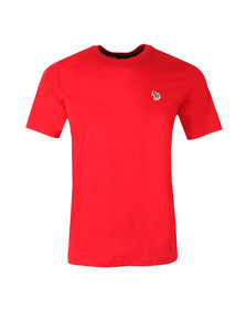 Paul Smith Mens Red New Zebra Logo T Shirt