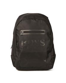 Boss Boys Black J20200 Logo Backpack