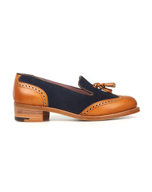 Barker Womens Brown Amber Shoe