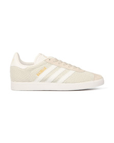 Adidas Originals Womens Talc Gazelle Mesh Trainer