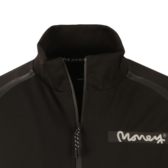 Money Mens Black Tech Zip Hoody main image