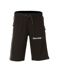 Money Mens Black Tech Shorts