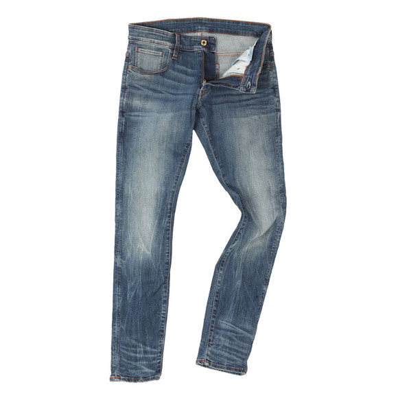 G-Star Mens Blue 3301 Deconstructed Super Slim Jean main image