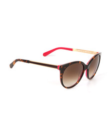 Kate Spade Womens Brown Amaya Sunglasses