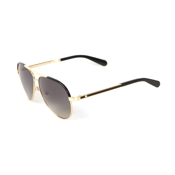 Kate Spade Womens Gold Amarissa Sunglasses main image