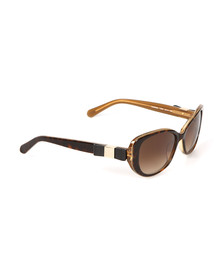 Kate Spade Womens Brown Chandra Sunglasses