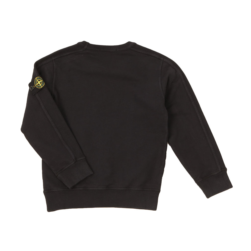 Sleeve Badge Crew Neck Sweatshirt main image
