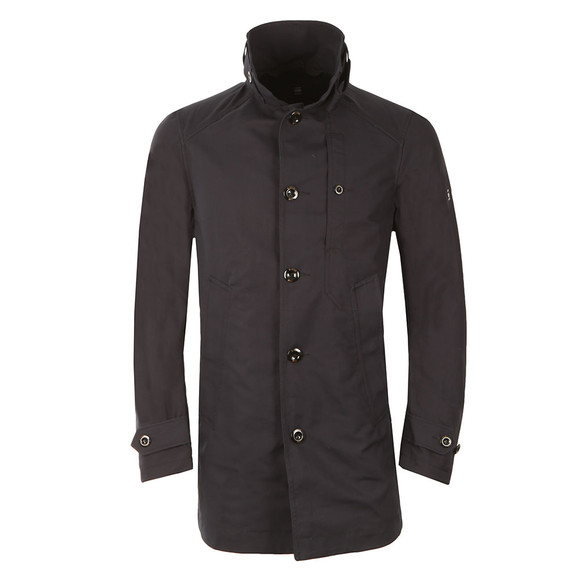 G-Star Mens Blue Garber Trench Coat main image